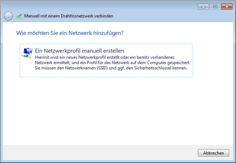 Einrichtung eduroam Windows 7: ITSC - IT-Service-Center